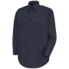 ORDER 1 - Navy L/S Poly/Cotton Shirt